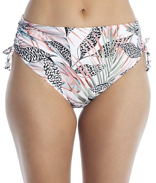 Fantasie Tobago Adjustable Side Tie Bikini Bottom in Melon(Front Views) FS500874