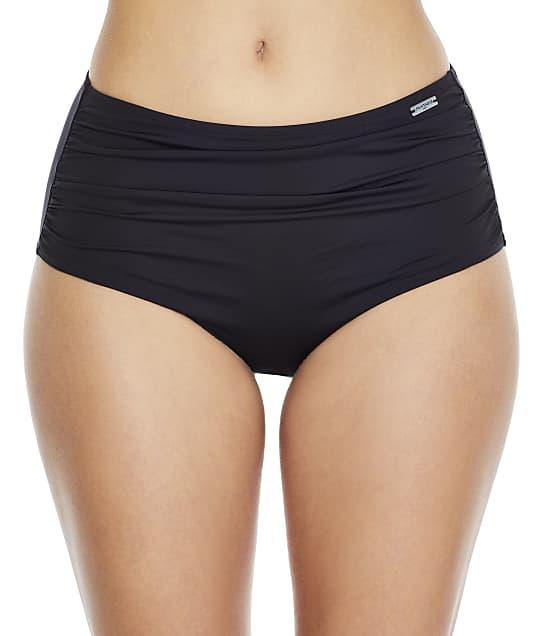 Fantasie Versailles Gathered Control Bikini Bottom in Black FS5753