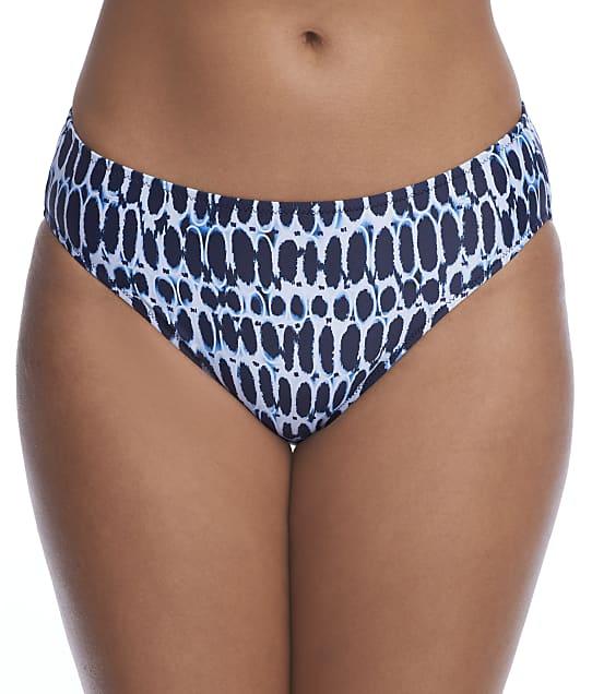Fantasie Kotu Mid Rise Bikini Bottom in Ink(Front Views) FS7015