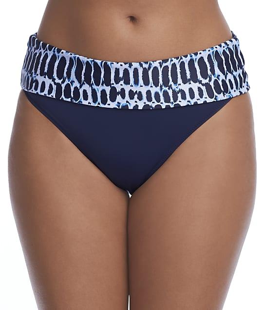 Fantasie Kotu Fold-Over Bikini Bottom in Ink(Front Views) FS7017