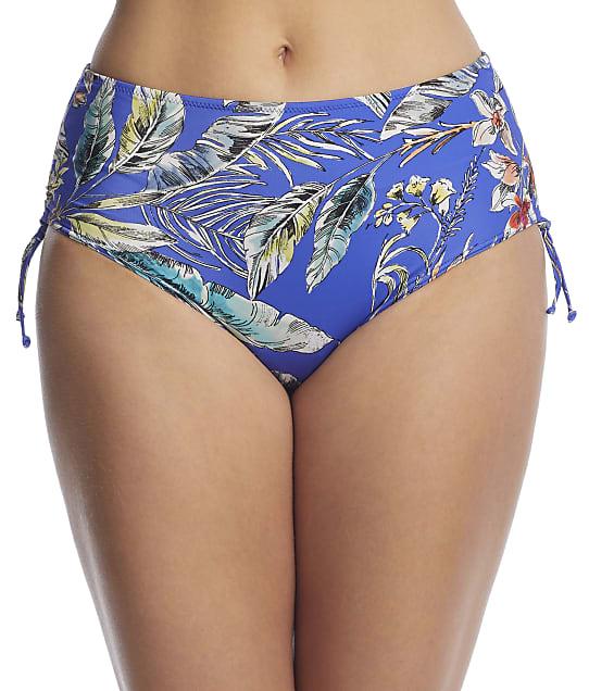 Fantasie Burano Adjustable Side Tie Bikini Bottom in Pacific(Front Views) FS7027