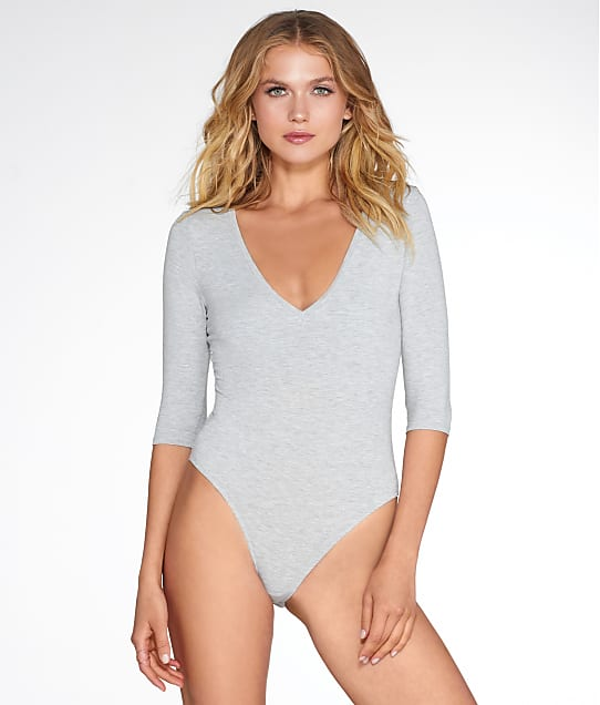 Felina: Deep V-Neck Bodysuit