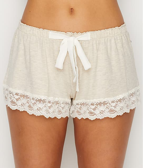 Flora Nikrooz: Lace Trimmed Modal Shorts