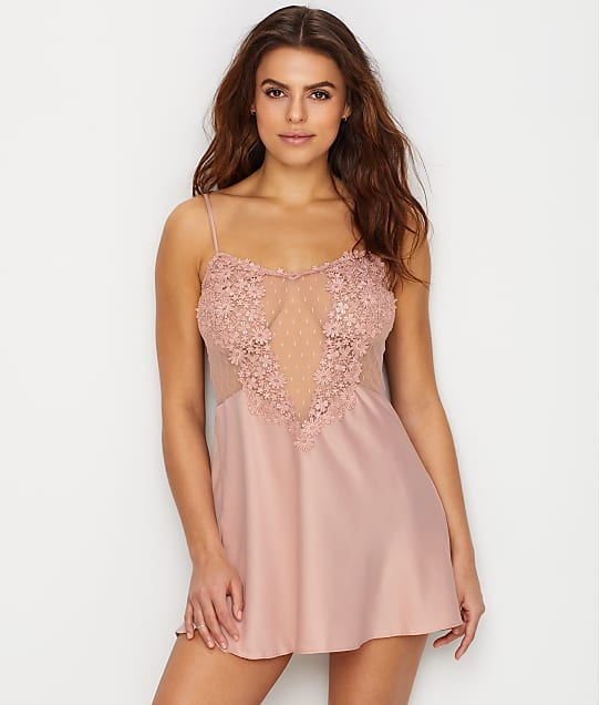 Flora Nikrooz: Showstopper Charmeuse Chemise