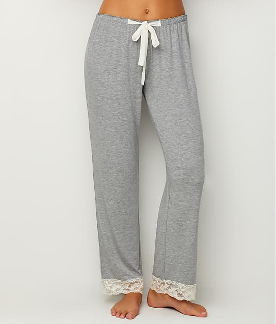 Flora Nikrooz: Lace Trimmed Modal Pajama Pants