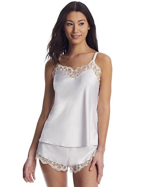 Flora Nikrooz Gabby Charmeuse Cami Pajama Set in Smokey Pearl Q80418