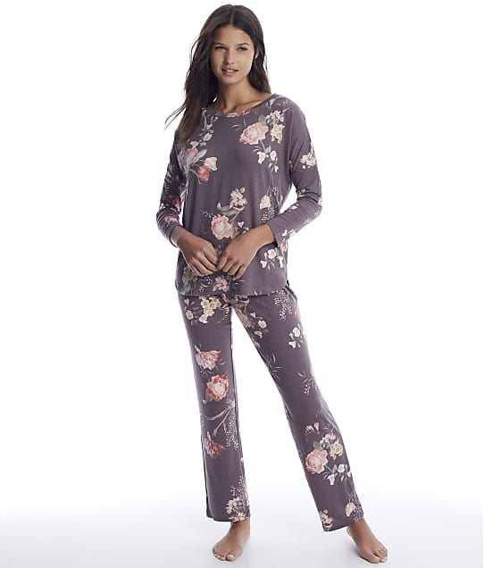 Flora Nikrooz: Kathy Floral Knit Pajama Set