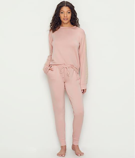 Flora Nikrooz: Lotus Brush Knit Pajama Set