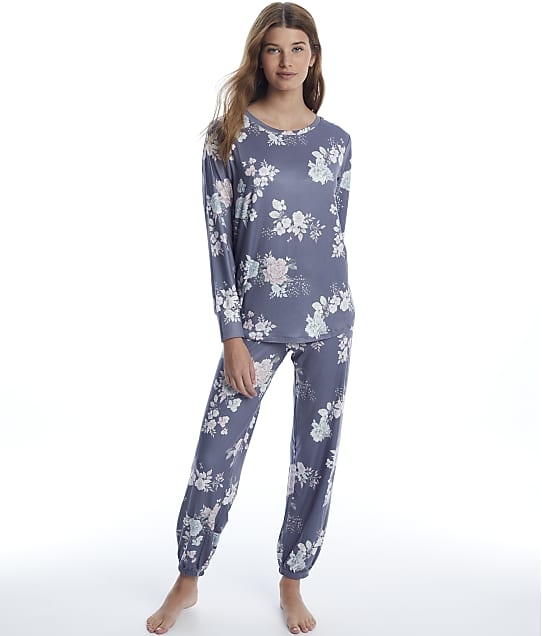 Flora Nikrooz: Haliee Knit Jogger Pajama Set