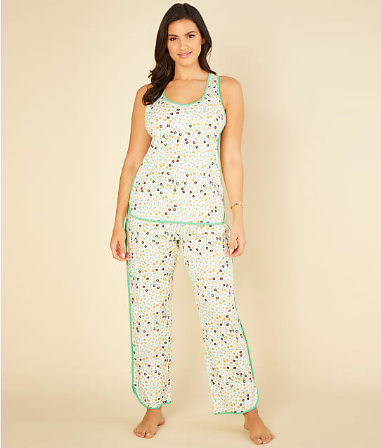 Cosabella: Florida Print Tank Knit Pajama Set
