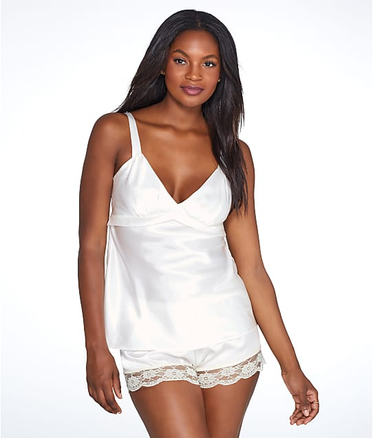 Flora by Flora Nikrooz: Diva Charmeuse Woven Cami And Short Set