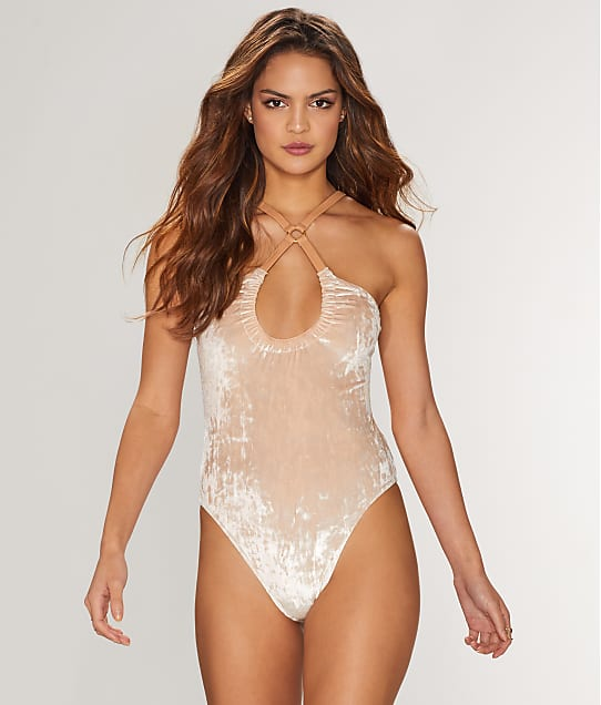 For Love & Lemons: Lula Velvet Bodysuit