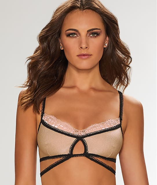 For Love & Lemons: Yvette Strappy Bralette