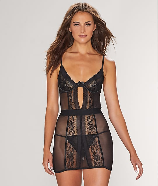 French Affair: Fired Up Chemise Set