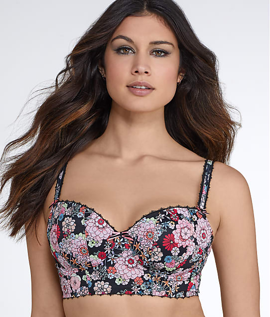 Freya: Retro Bloom Longline Bra