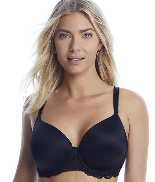 Freya Expression Plunge T-Shirt Bra in Black AA5490