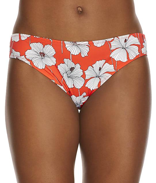 Freya Hibiscus Beach Bikini Bottom in Sunset(Front Views) AS201270
