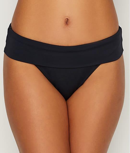 Freya Remix Fold-Over Bikini Bottom in Black AS3956