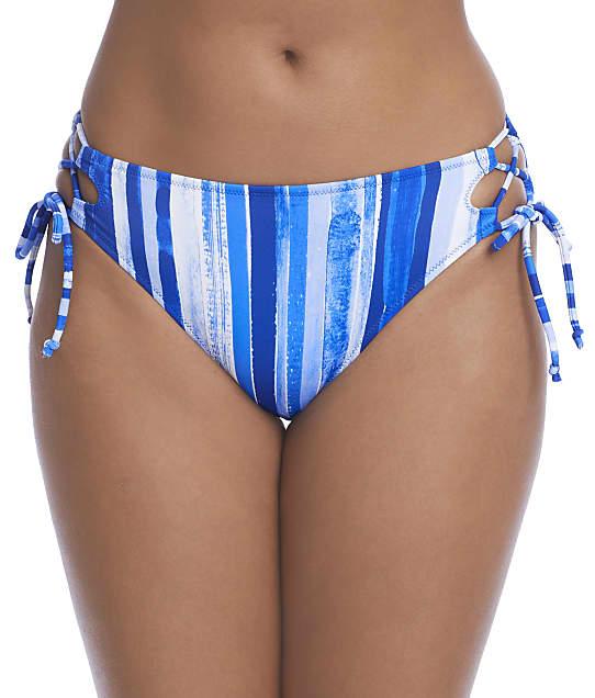 Freya Bali Bay Rio Side Tie Bikini Bottom in Biosphere(Front Views) AS6785