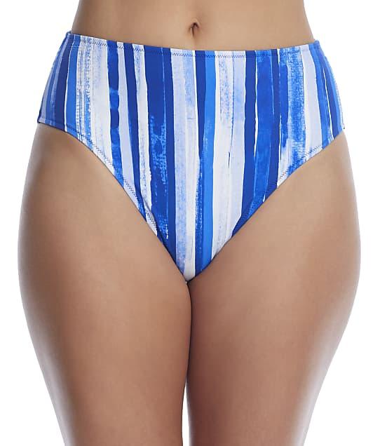 Freya Bali Bay High-Waist Bikini Bottom in Biosphere(Front Views) AS6787