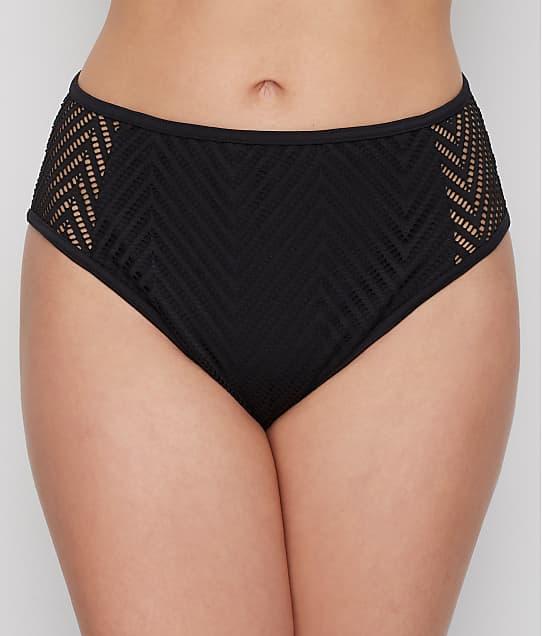 Freya Urban High-Waist Bikini Bottom in Night AS6967