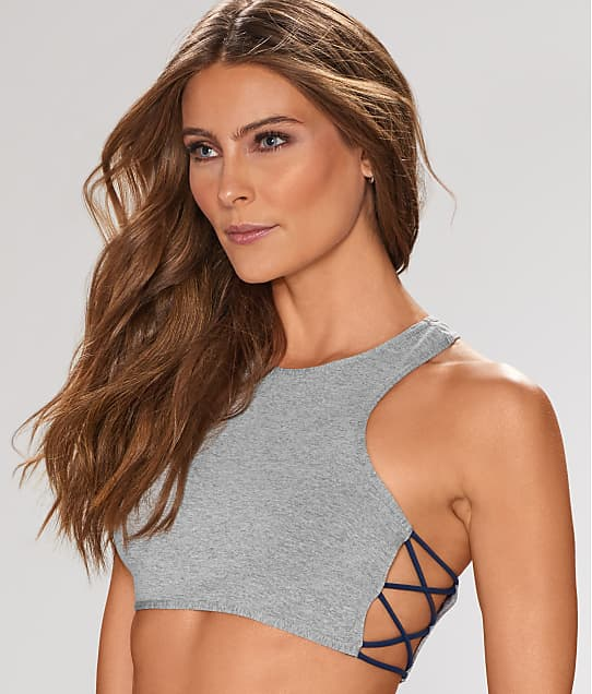 Free People: Side Cross Racerback Bralette