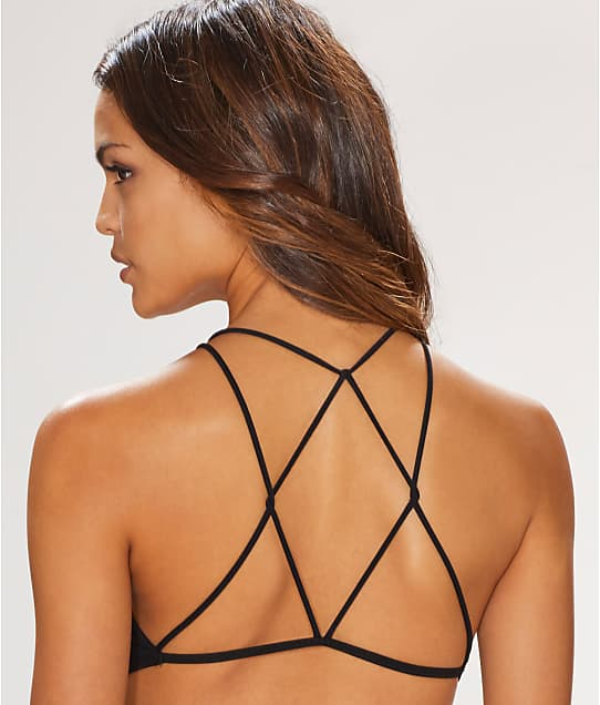 Free People: High Neck Strappy Back Bra