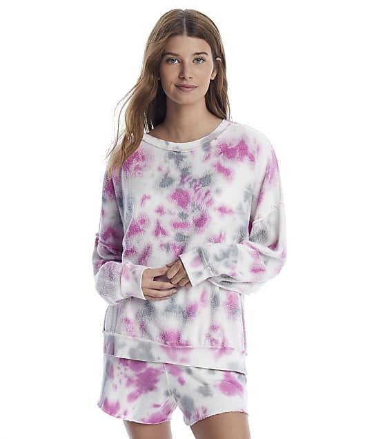 Free People: Kelly Pink Washed Knit Pajama Set