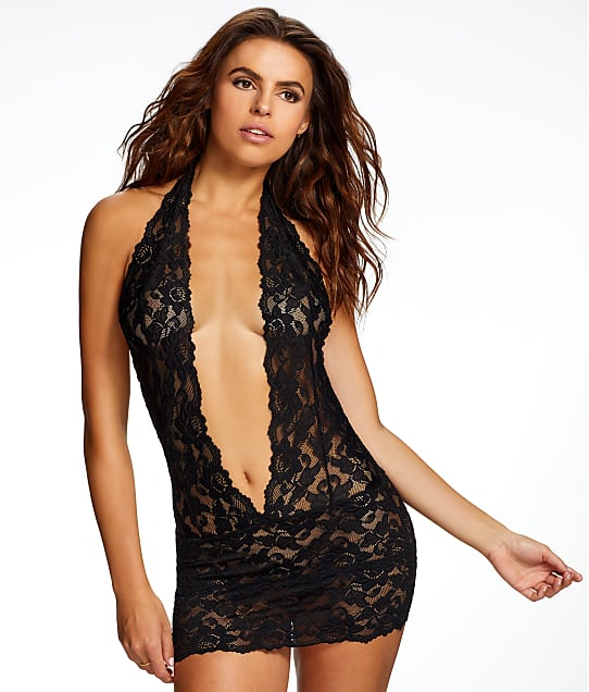 Frederick's of Hollywood: Jessica Lace Plunge Chemise