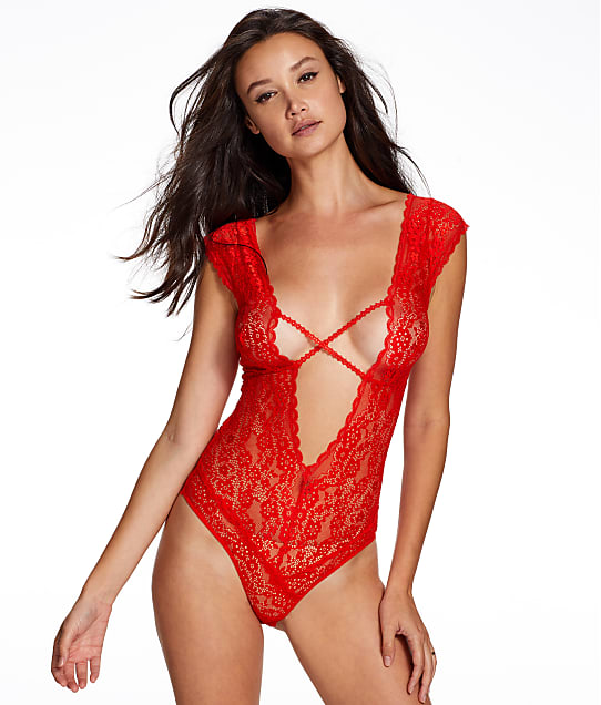 2be344134e21f Frederick s of Hollywood Lydia Rose Lace Teddy