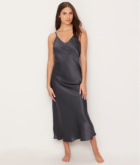 Ginia: Silk Long Gown