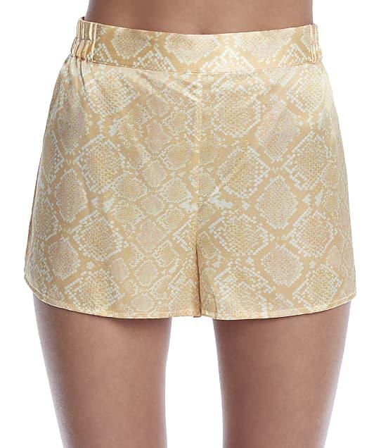 Ginia: Serpentine Silk Shorts