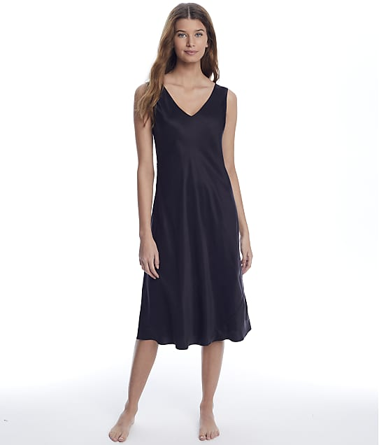 Ginia: Washable Silk Long Gown