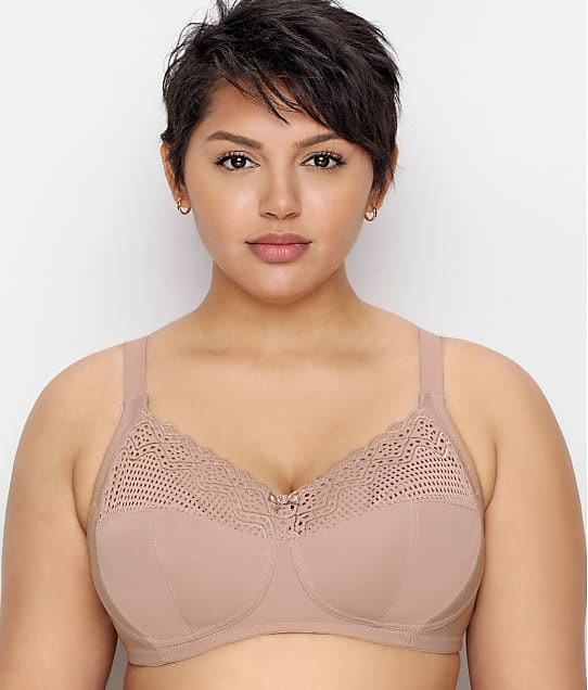 Glamorise Comfort Lift Support Wire-Free Bra in Taupe 1103