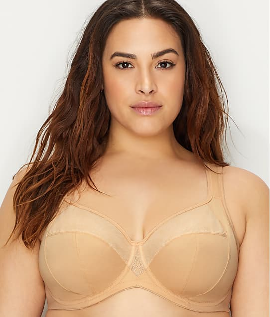 Goddess: Heather Comfort Side Support Bra