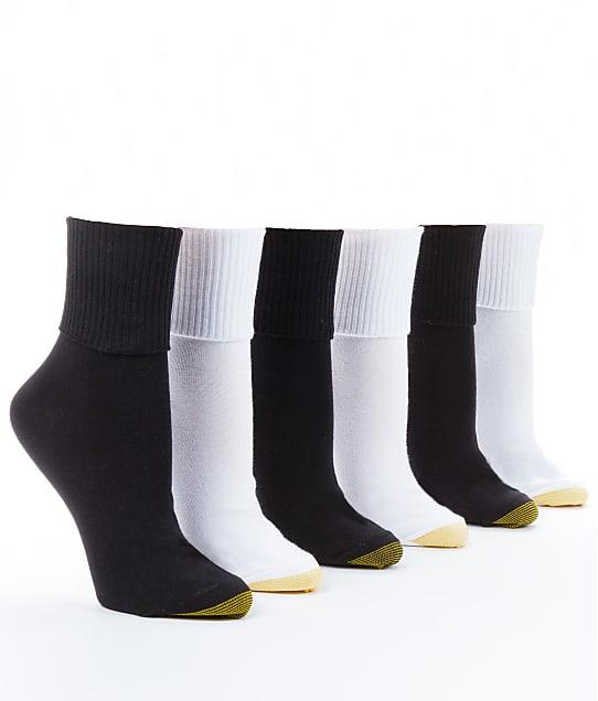 Gold Toe: Anklet Low-Cut Socks 6-Pack