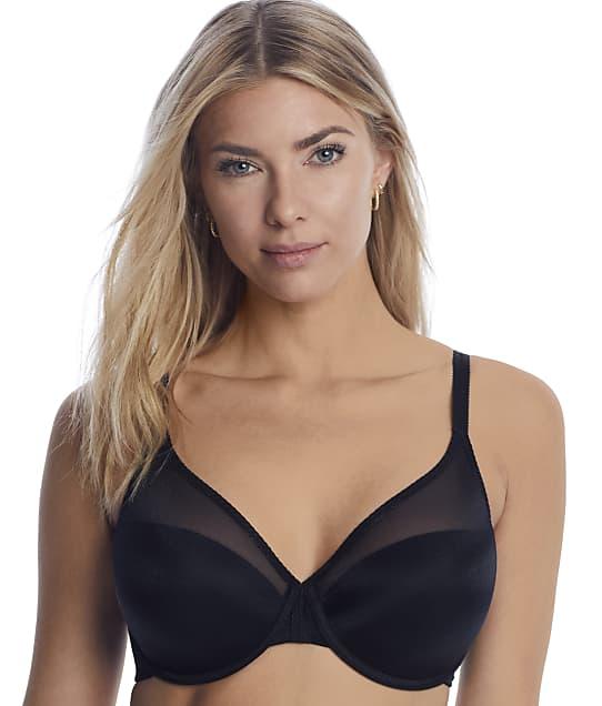 Gossard Glossies T-Shirt Bra in Black(Front Views) 6270
