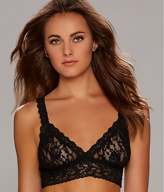 Hanky Panky Signature Lace Bralette in Black(Front Views) 113