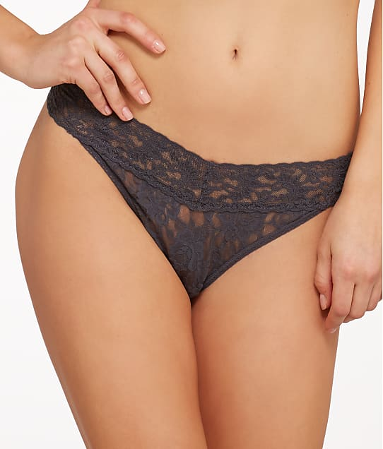 Hanky Panky: Plus Size Signature Lace Original Rise Thong