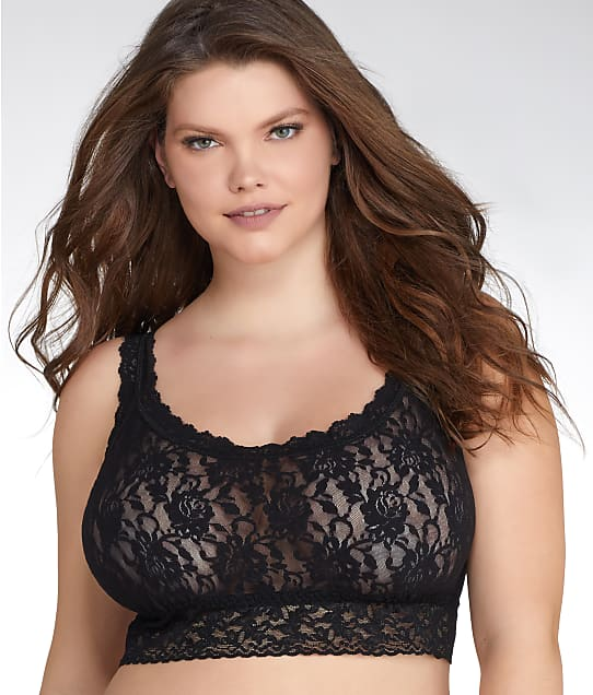 Hanky Panky: Signature Lace Cropped Top Plus Size