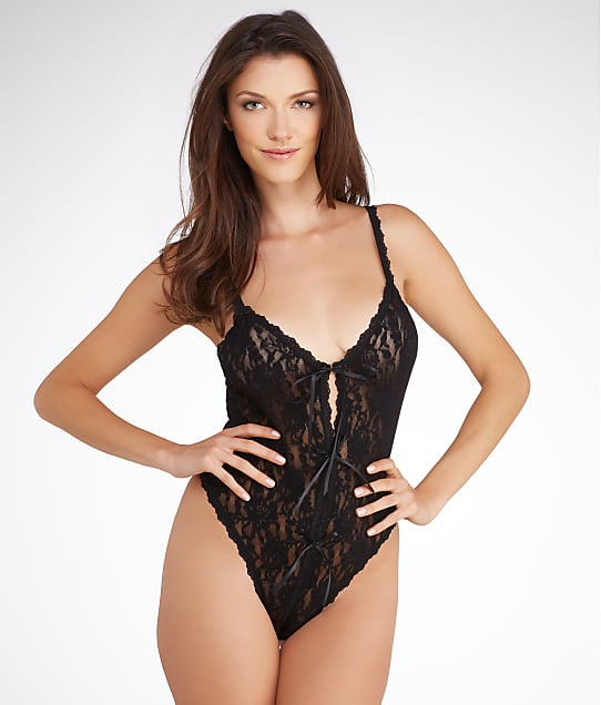 Hanky Panky: After Midnight Lace Teddy Plus Size