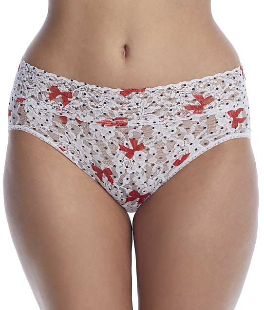 Hanky Panky: Dotty Bows French Brief