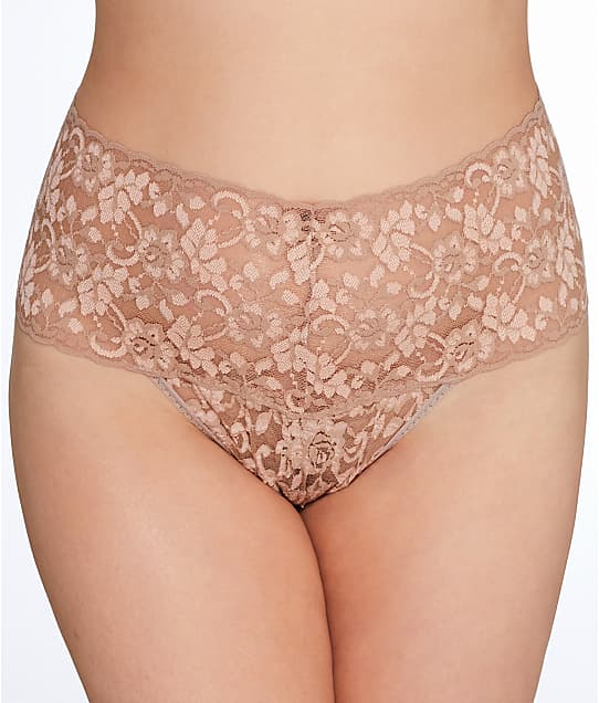 Hanky Panky: Plus Size Cross Dyed Retro Thong