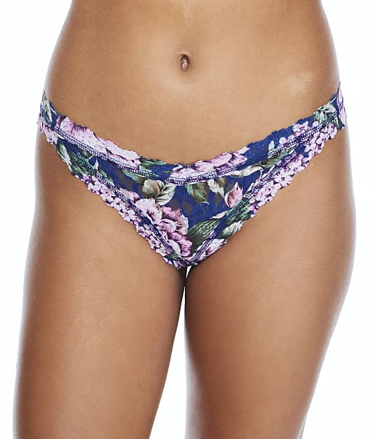 Hanky Panky Florentina Crotchless Tanga in Multi(Front Views) 5Q2844