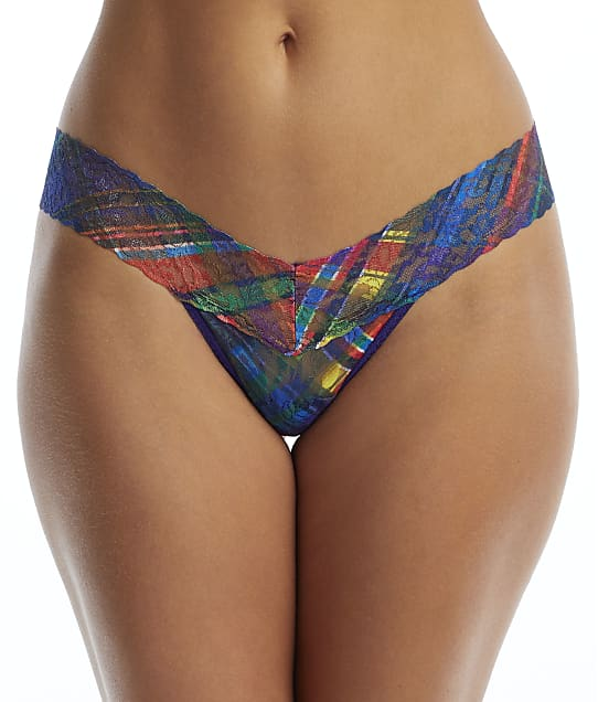 Hanky Panky: Plaidest Low Rise Thong