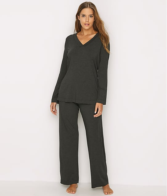 Hanro: Champagne Knit Pajama Set