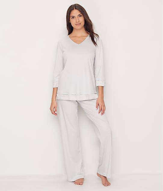 Hanro: Lamia Cotton Knit Pajama Set