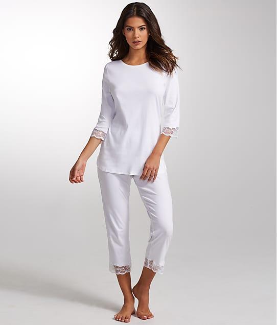Hanro: Valencia Knit Pajama Set