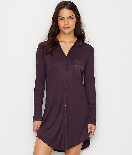 Hanro: Grand Central Knit Sleep Shirt
