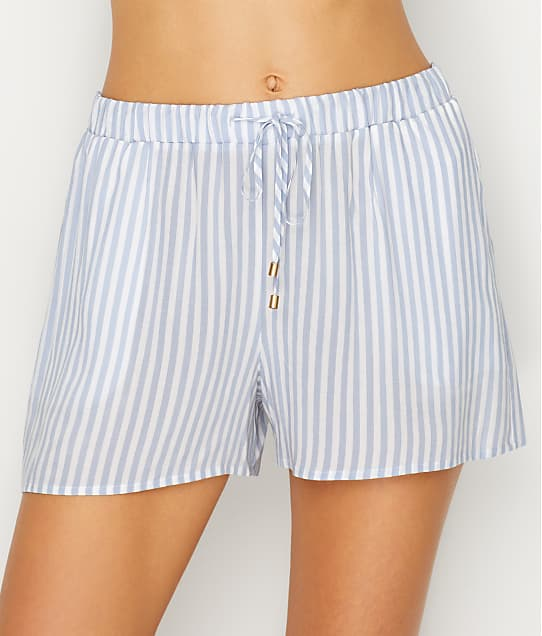 Hanro: Sleep & Lounge Woven Pajama Shorts